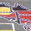 Car Track of Australia Yellow Sun