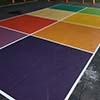 Coloured Eight Square