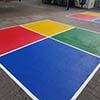 Coloured Four Square