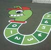 Number Worm Green