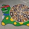 Spelling Snail Green