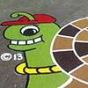 Spiral Snail Green